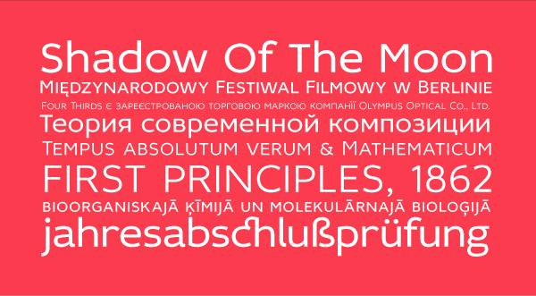 Бесплатные кириллические шрифты #19