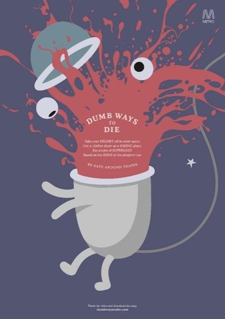 Постеры «Глупые способы умереть»