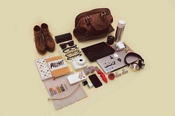 Содержимое сумок