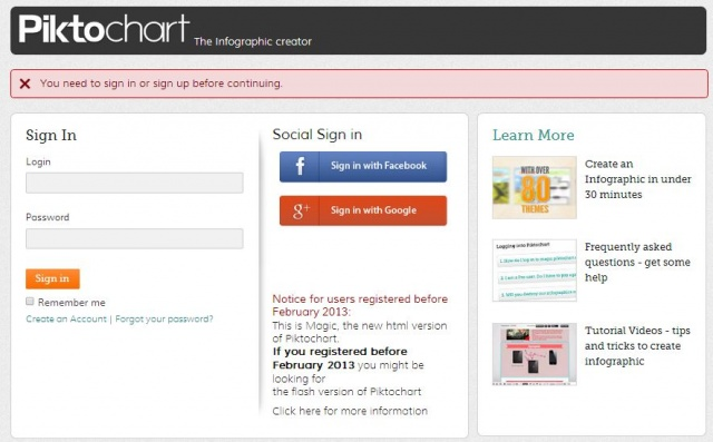 Piktochart - Инструмент легкой инфографики