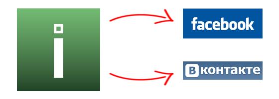 ВКонтакте и Facebook