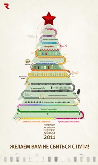 Новогодняя инфографика