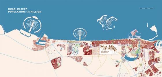 Дубаи: 1990/2007/2015