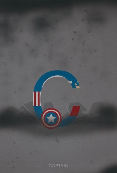 Helvetica and super heroes