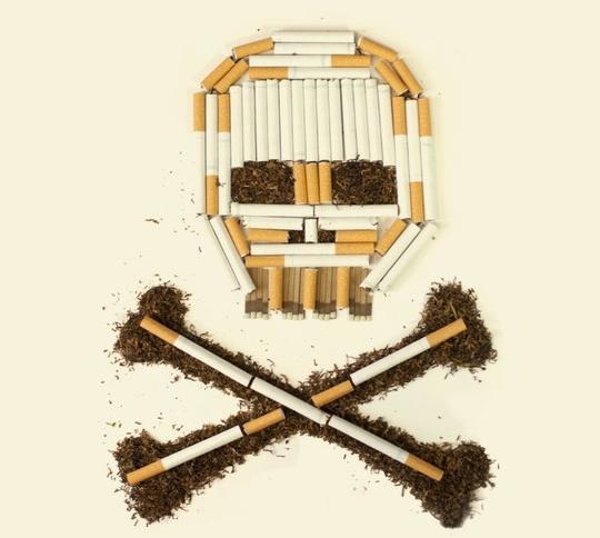 Инфографика о курении