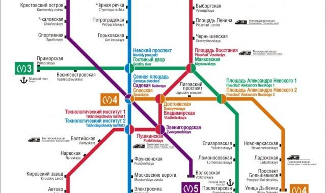 Схема метро станция волковская