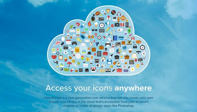 Icon Pocket: Облачное хранилище иконок