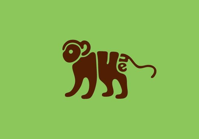 5-monkey-typography-design