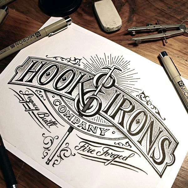 Hook & Irons by Jason Carne