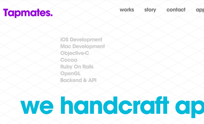 tapmates-text-typography-homepage