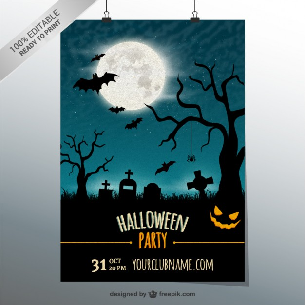 editable-party-poster-template-for-halloween_23-2147497217