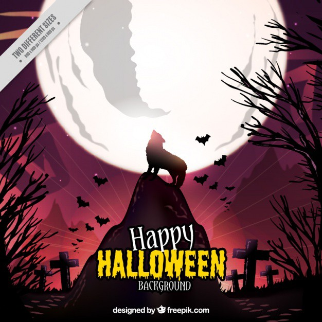 halloween-background-of-wolf-howling-at-the-moon_23-2147569168