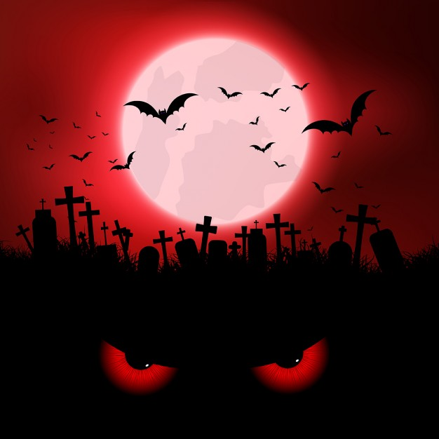 halloween-background-with-evil-eyes-and-graveyard_1048-3049