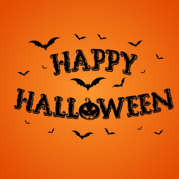 orange-background-with-pumpkins-and-bats-for-halloween_1048-3270