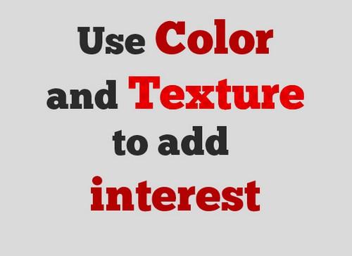 Цвет шрифта
