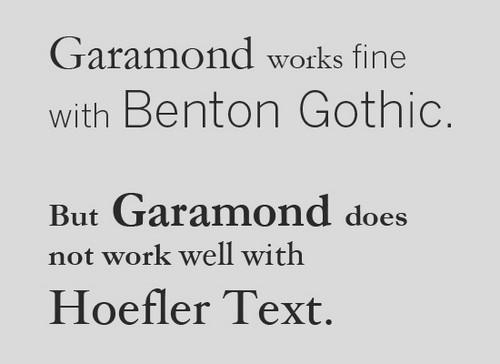 Классификация шрифтов