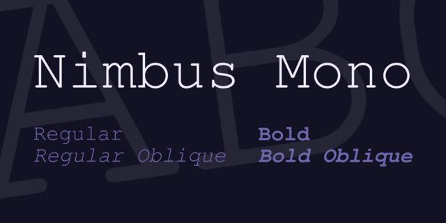 nimbus_mono_font_5_big
