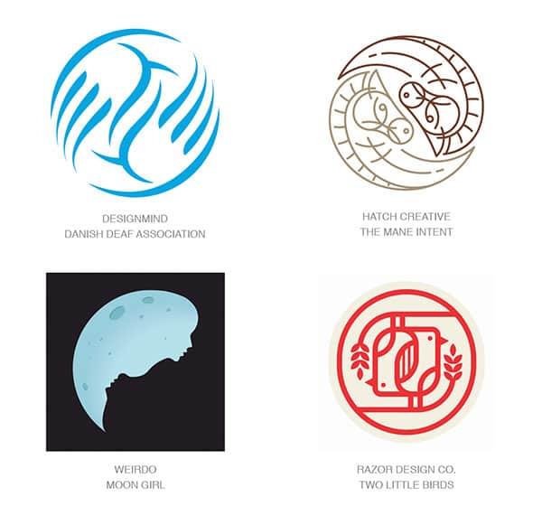 Тенденции в дизайне логотипов - Инь Янь