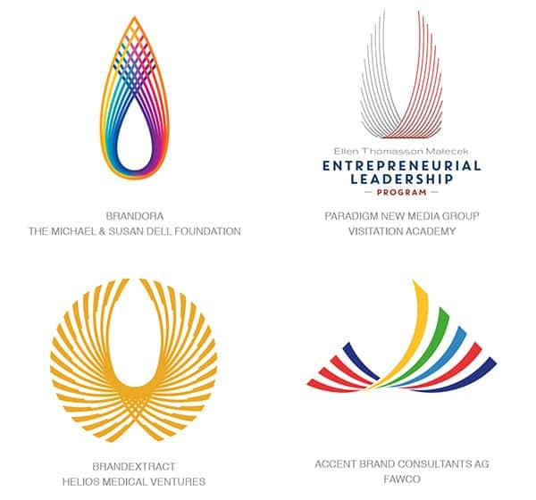 Тренд логотипов 2017 - Крылья