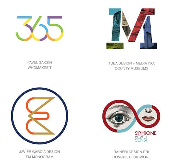 Сплит цвета в логотипах