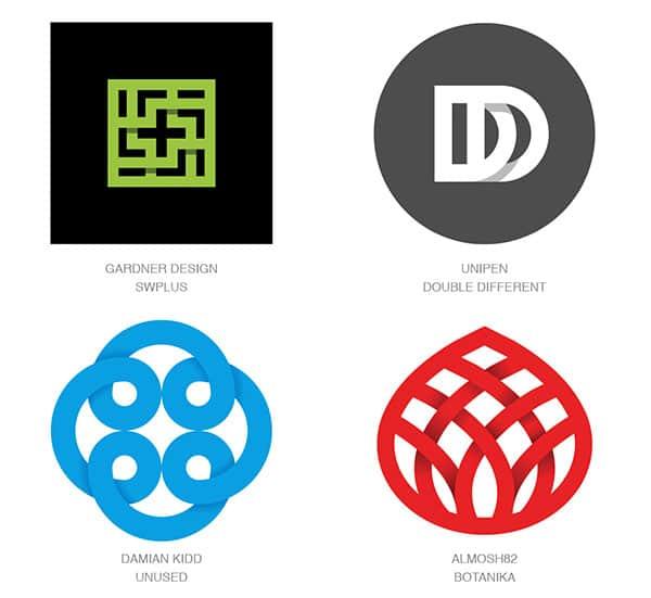 Тренд лого - теневые разрывы