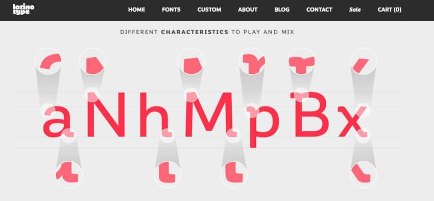 semi-serif-latino-type
