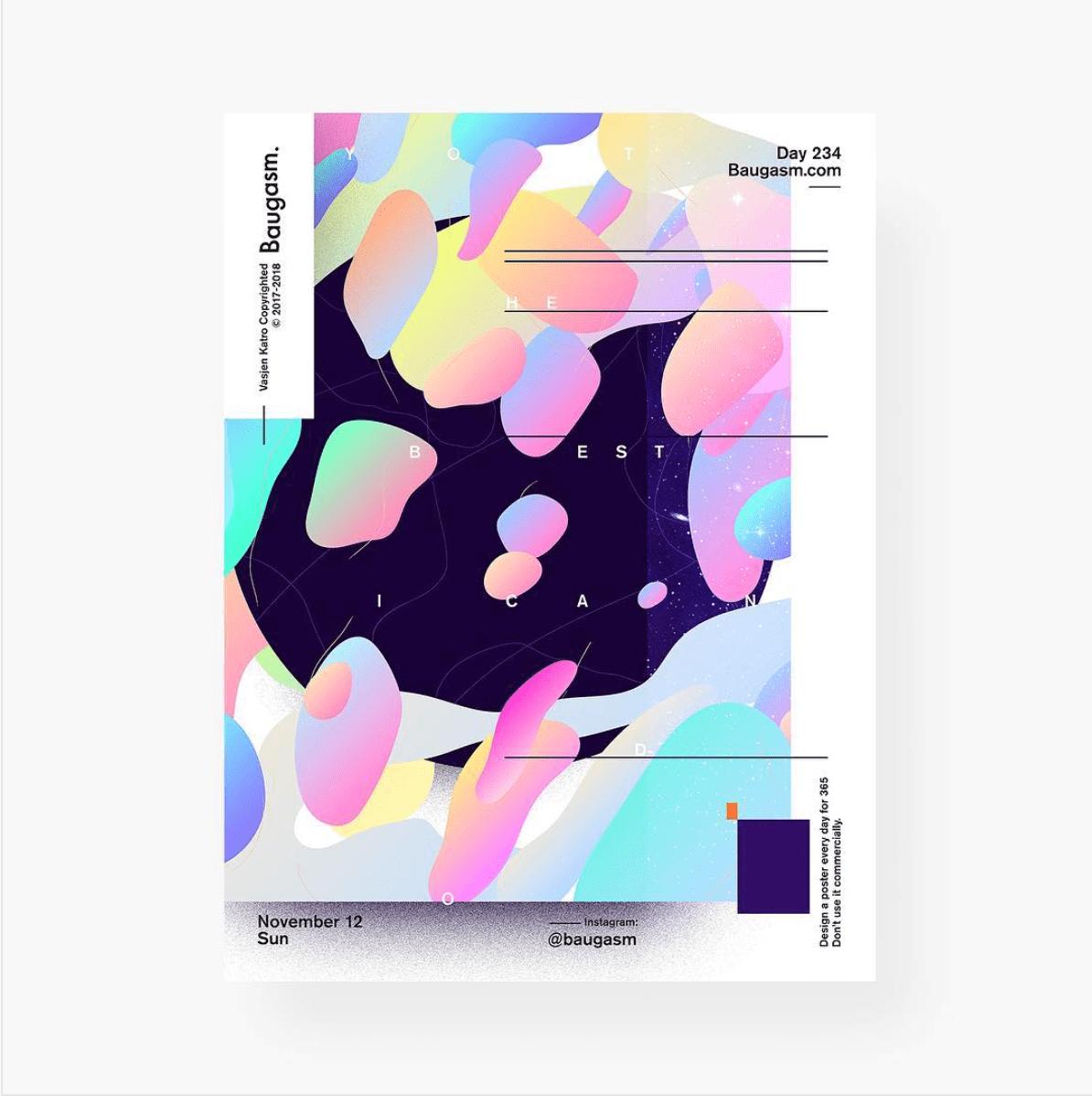 Проект: Daily PostersАвтор: Baugasm