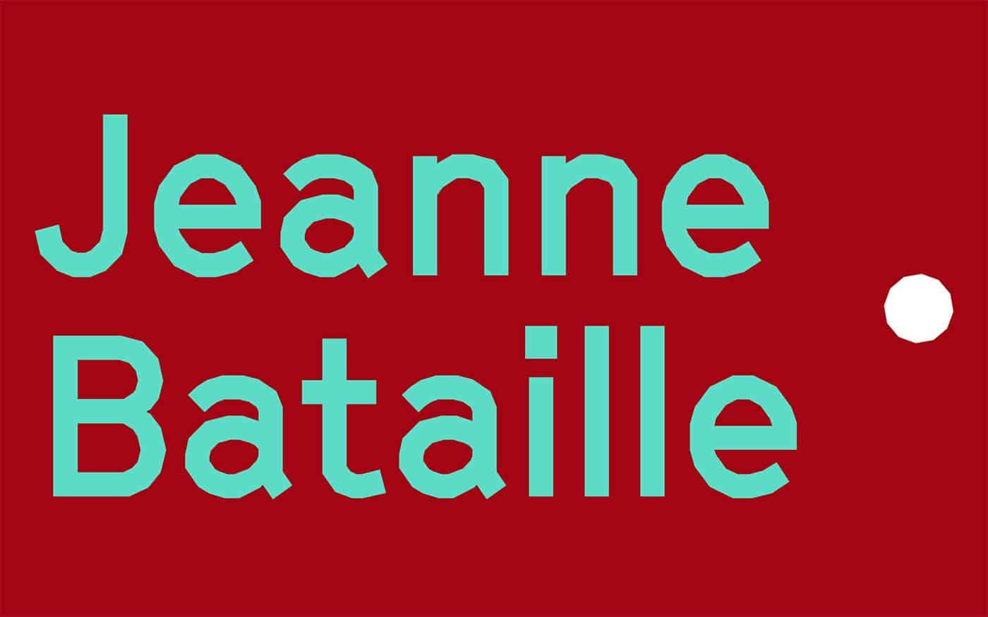 Проект и Автор: Jeanne Bataille
