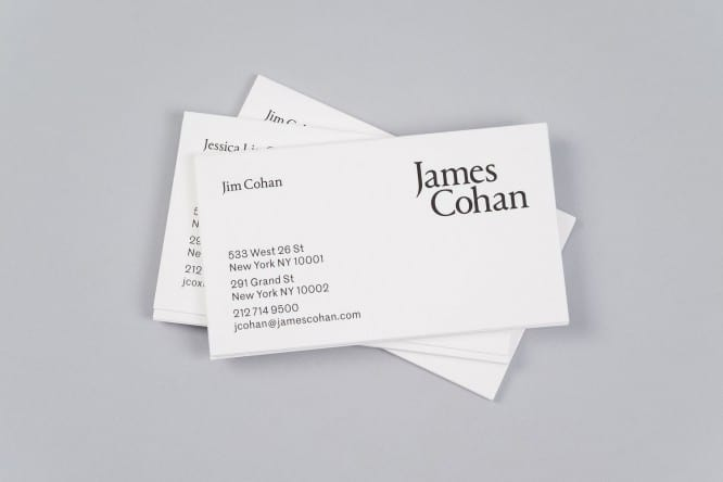 01-James-Cohan-Branding-Business-Cards-by-Project-Projects-on-BPO