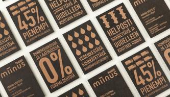 160 визиток с минималистичным дизайном