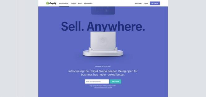 Shopify Credit Card Reader