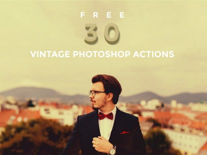 30-Free-Vintage-Photoshop-Actions