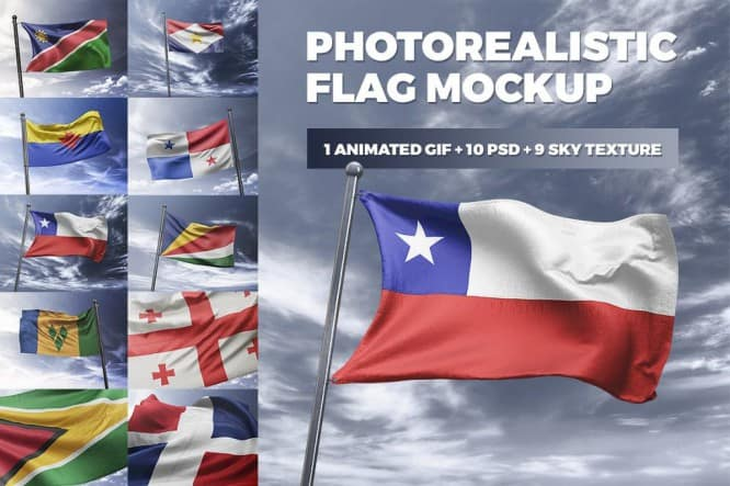 Photorealistic-Flag-MockUp-1024x681