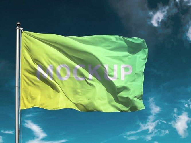free-flag-mockup-psd