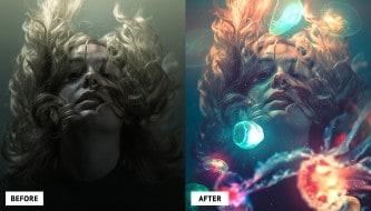 35 коротких видео по работе в Photoshop для новичков
