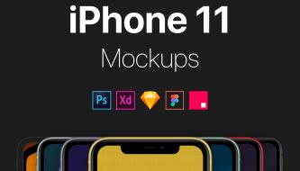iPhone 11 Mockups