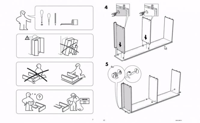 ИКЕА инструкция